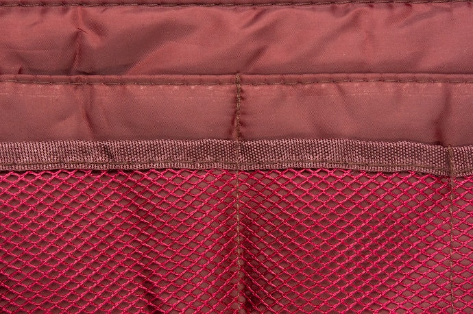 Side Mesh Pockets for Convenience
