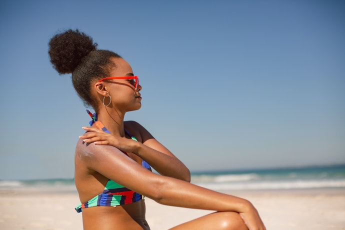 Chemical Sunscreens Look Transparent But May Irritate the Skin