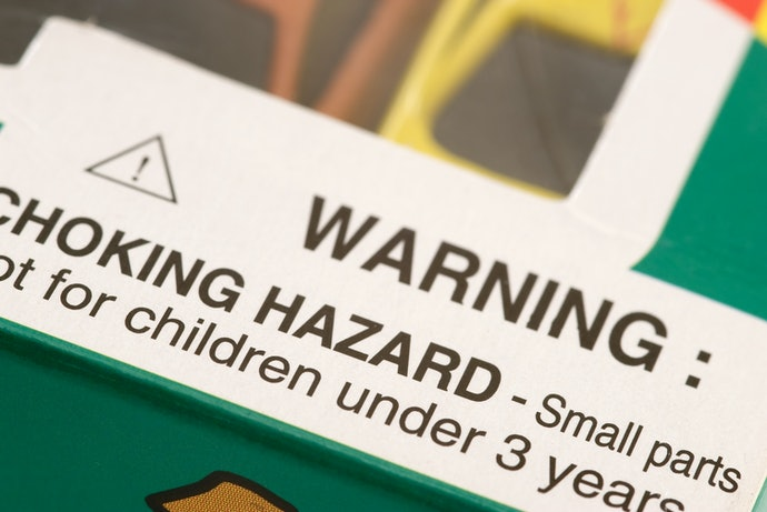 Beware of Choking Hazards