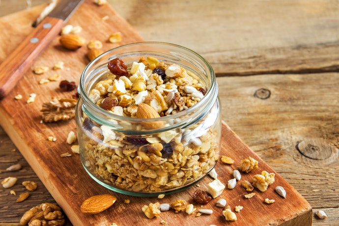 Pay Attention to Granola and Dried Fruits