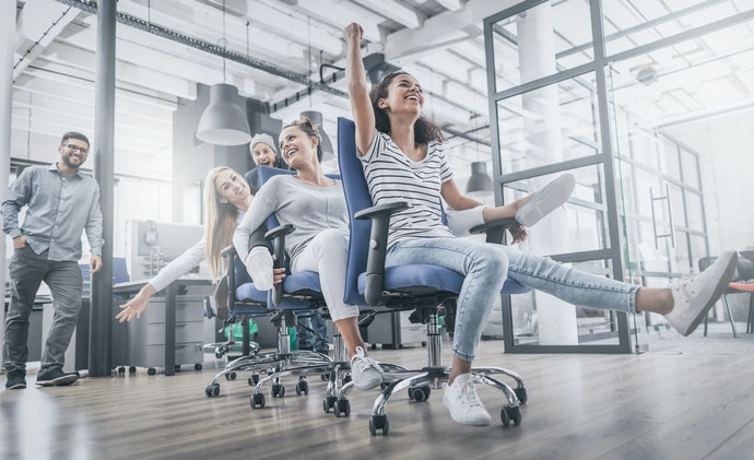 A Swivel Chair Helps You Roll and Move around with Ease