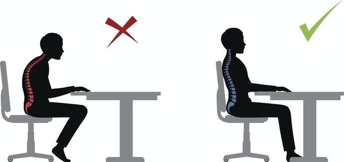 Comfortable Armrests to Prevent Slouching