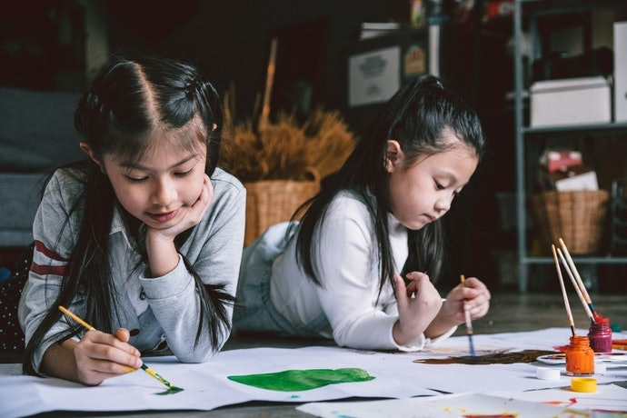 Need Your Kids to be Quiet? Keep 'Em Busy With These Art Materials