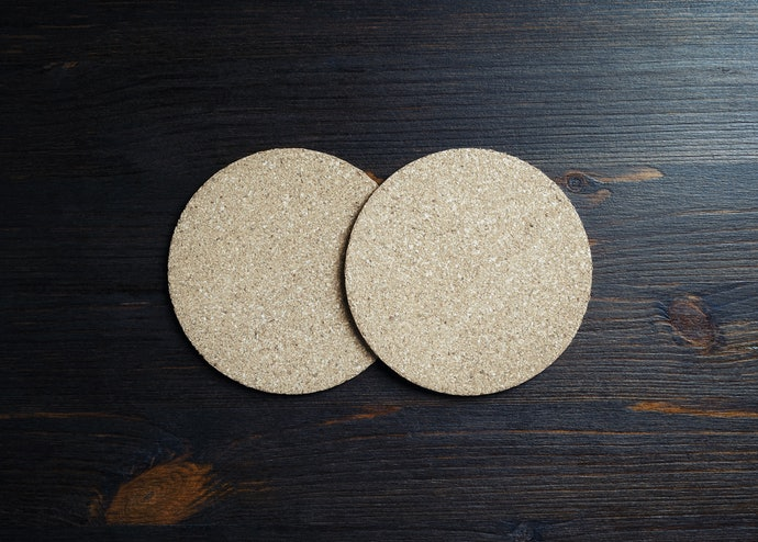 Cork or Wooden Coasters Provide Durability