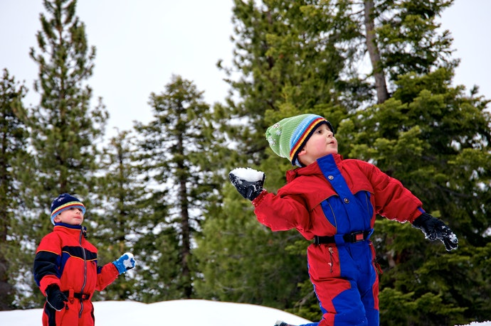Snug and Warm One-Piece Snowsuits