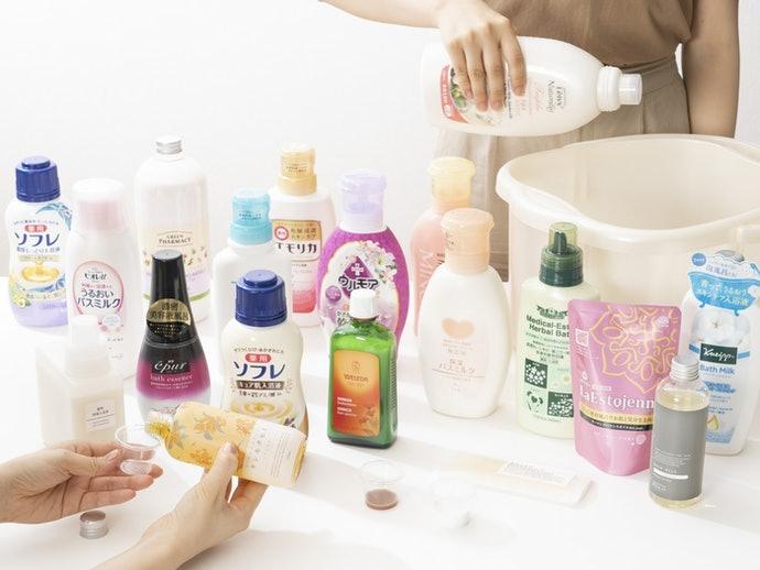 How We Tested the Japanese Bath Milks