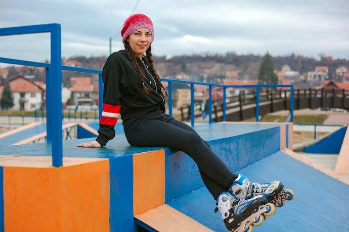 Aggressive Skates for Tricks