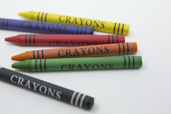 Use Crayons for Scribbling