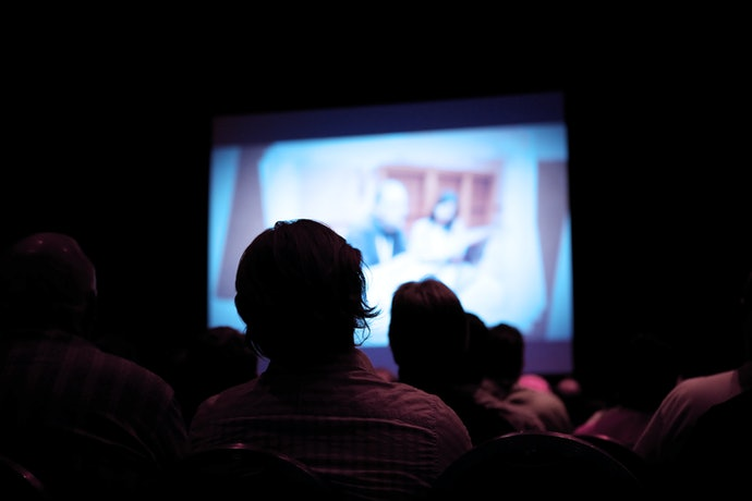 The Contrast Ratio is Important for Home Theater Use