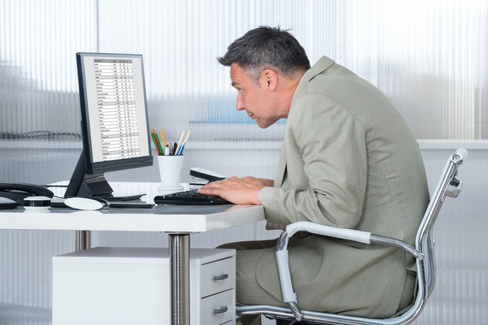 Electronic Posture Correctors are Ideal for a Desk Job