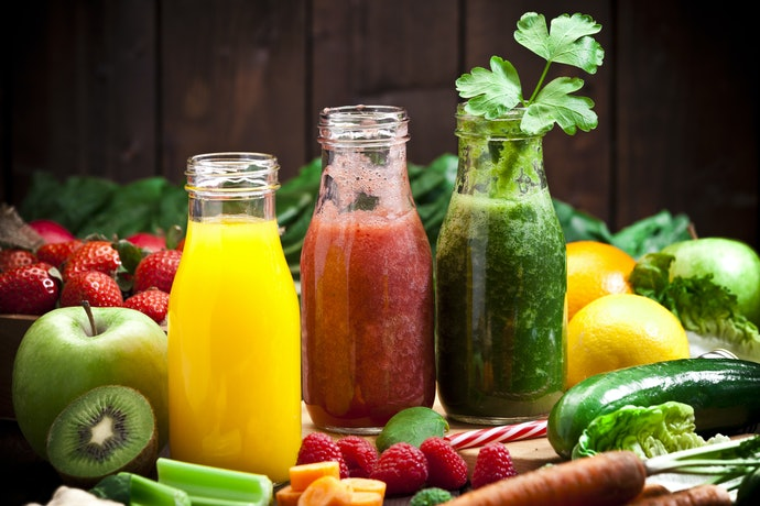 Fruit and Vegetable Mixes Provide Vitamins and Minerals