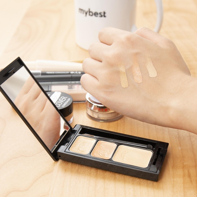 Palette-type Concealers are a Lifesaver to Those with Different Kinds of Spots