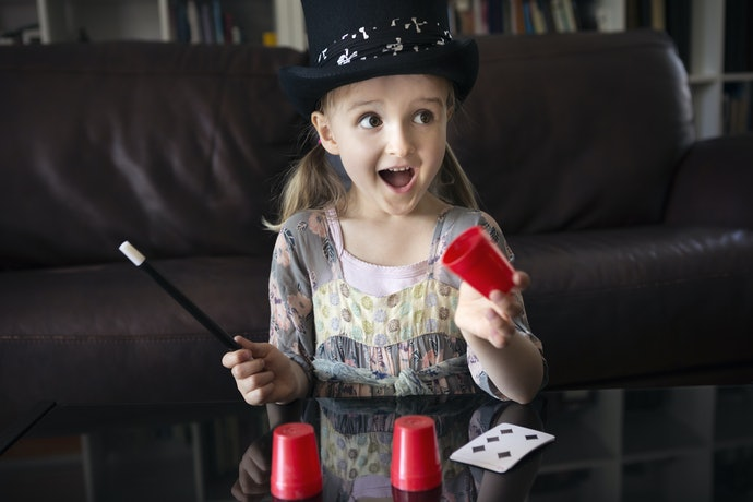 Select a Magic Set With Ready-to-Go Tricks for Small Children Under Seven