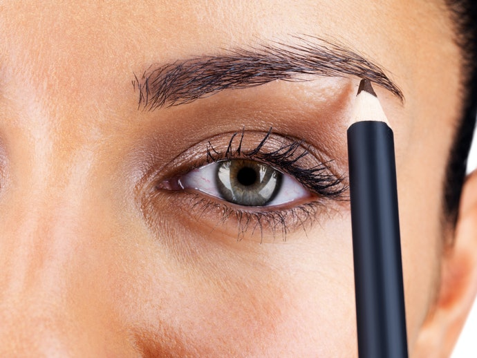 Pointed Pencils are Great for Thinner Brows