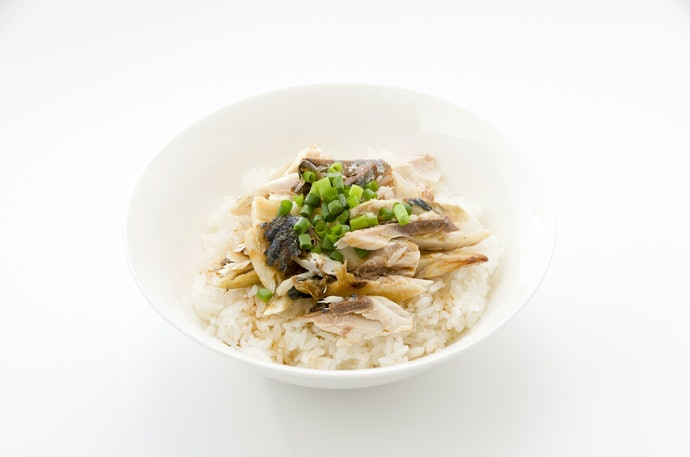 Mackerel and Rice is a Simple Meal