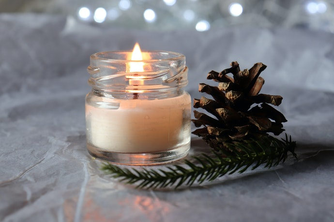 Unscented Candles Create Ambience