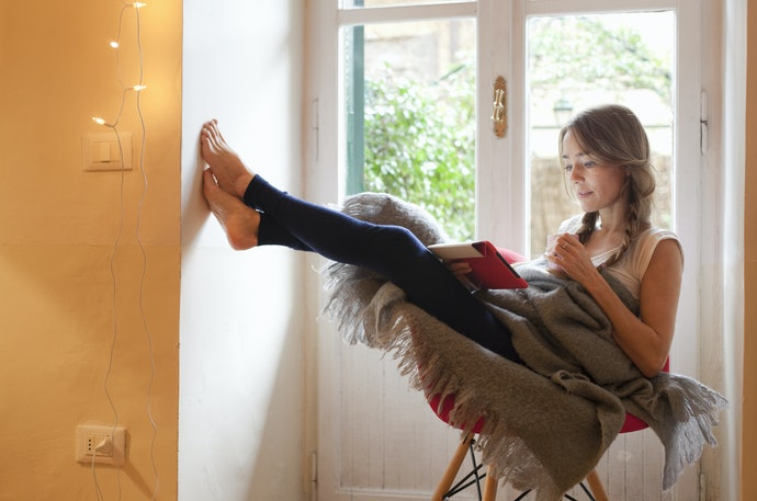 Try Comfortable Leggings Made With Cotton for Lounging