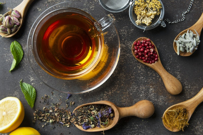 Relax With Herbal Tea