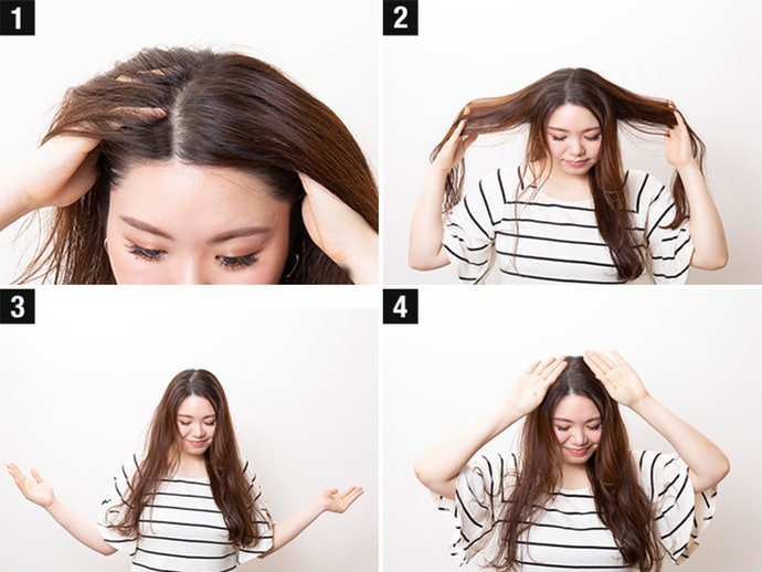 Comb Through Your Hair and Rinse for Three to Five Minutes
