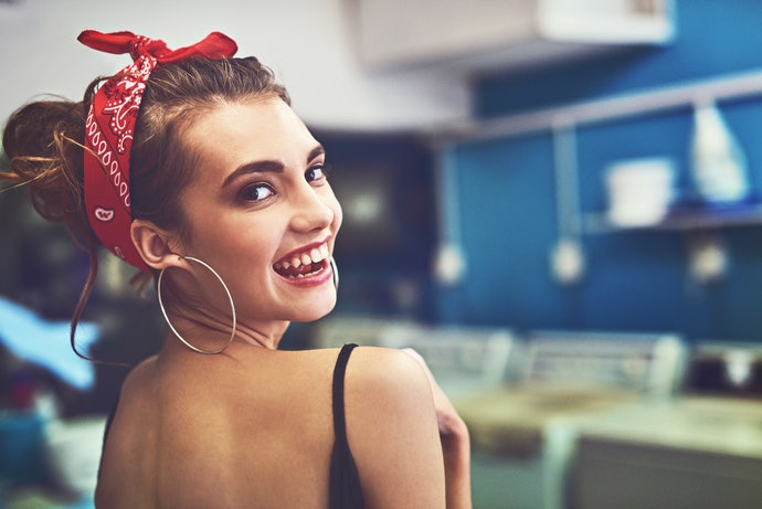 Hair Bands or Ribbons for Style and Half-Updos