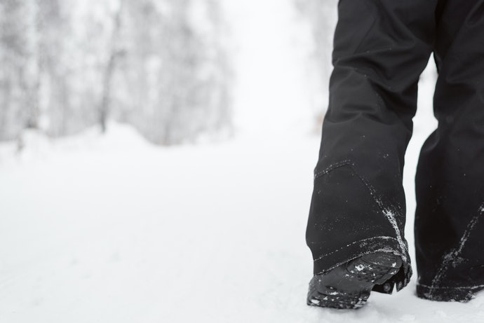 Built-in Gaiters to Avoid Snow