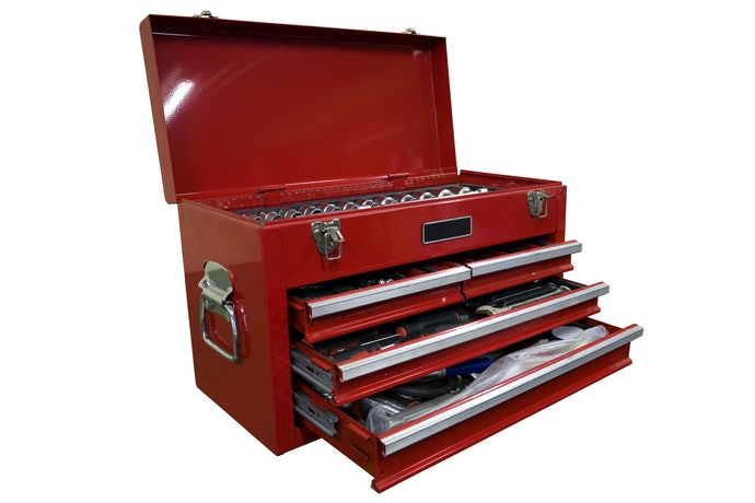 A Stationary Tool Chest is the Furniture of a Garage or Workspace