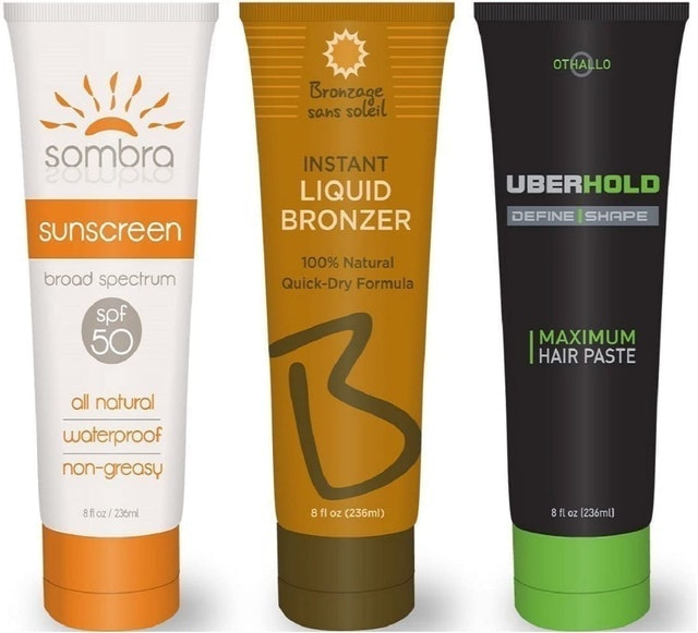Tipsy Tubes Hidden Sunscreen Lotion Flask 1