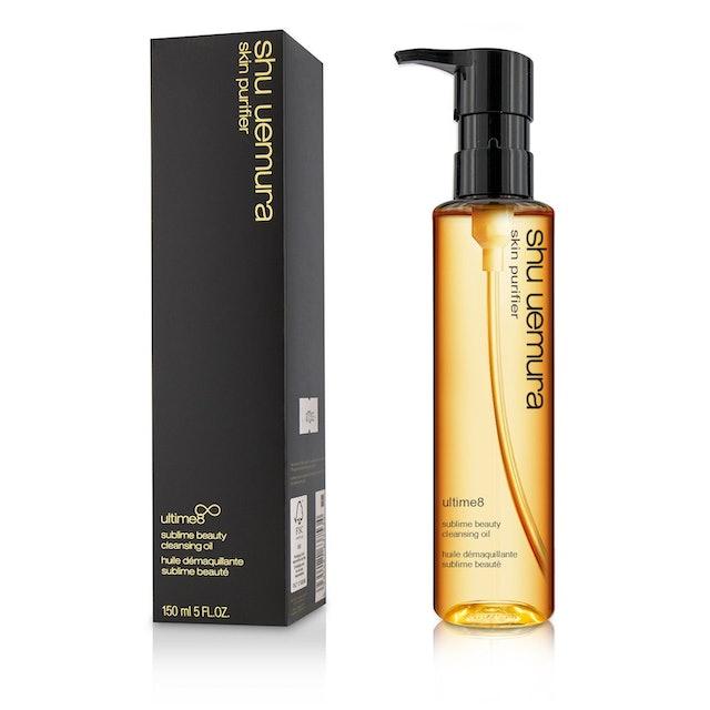 shu uemura Skin Purifier Ultime8 Cleansing Oil 1