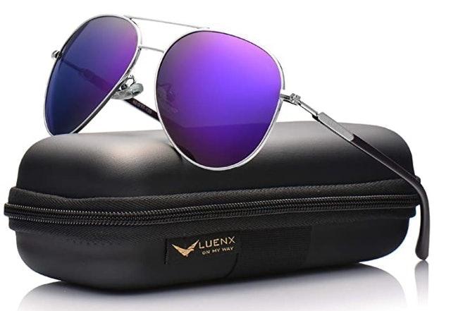 Luenx Polarized Aviator Sunglasses 1