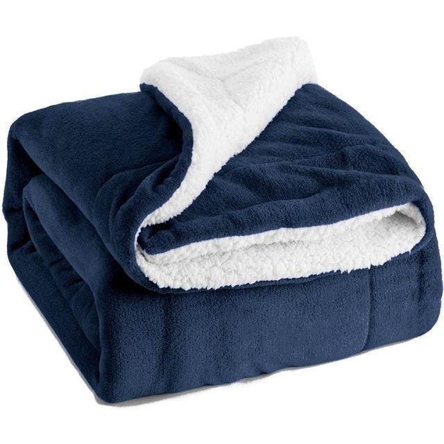 Bedsure Sherpa Fleece Blanket 1