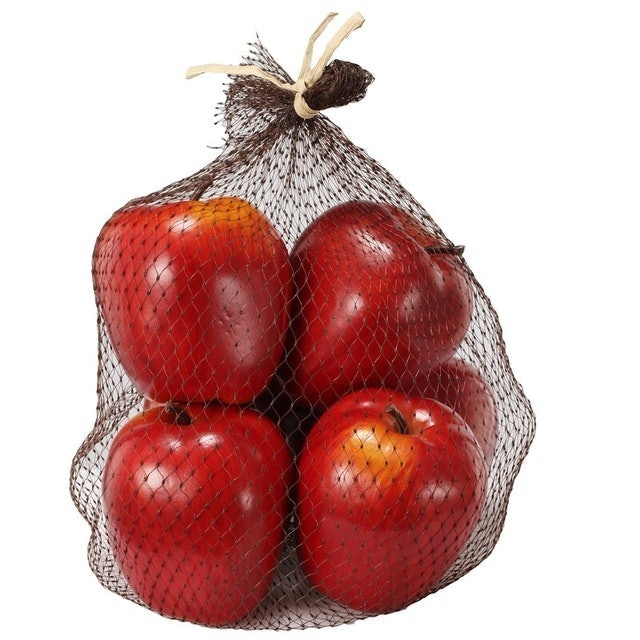Fall Decorations August Grove Decorative Faux Apple Set 1