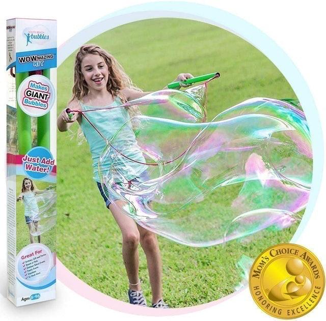 Wowmazing Giant Bubble Wand Kit  1