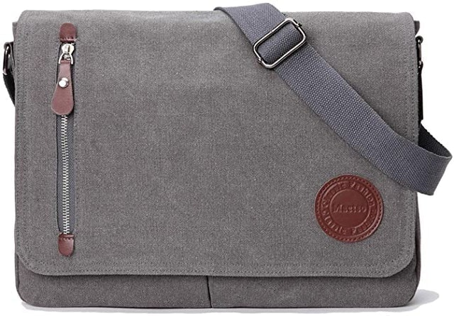 Mactso Vintage Canvas Satchel Messenger Bag 1