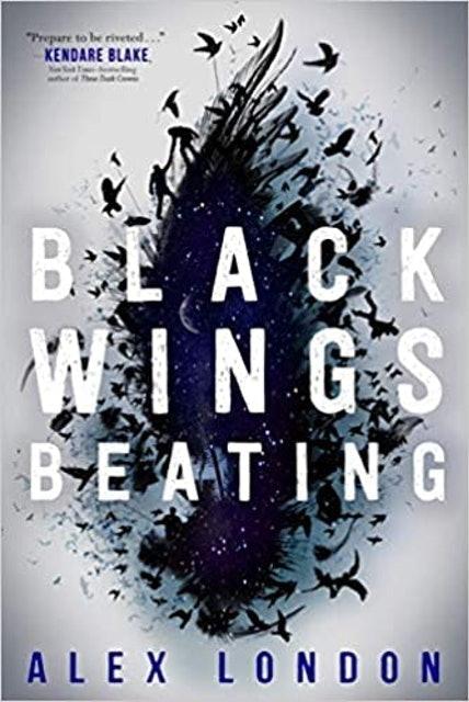 Alex London Black Wings Beating 1