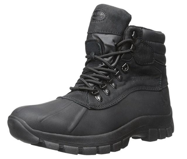 KINGSHOW Men's Warm Waterproof Winter Snow Boots 1