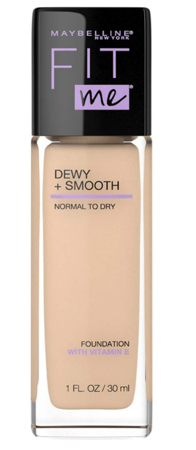 Maybelline New York Fit Me Dewy + Smooth Foundation 1