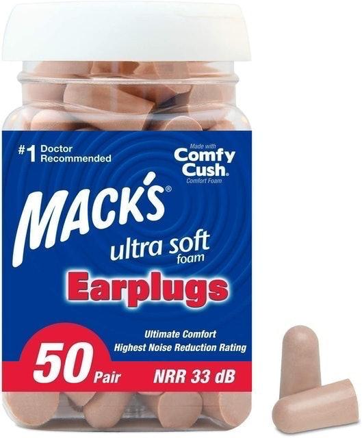 Mack's Ultra Soft Foam Earplugs 1