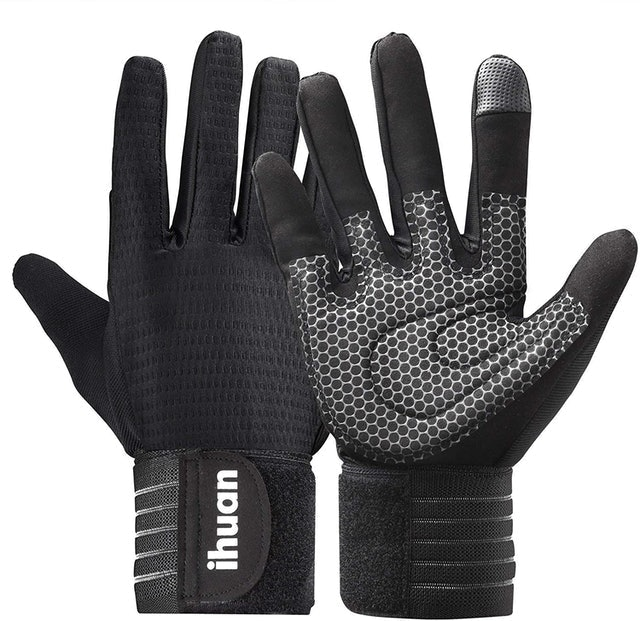 Ihuan Weight Lifting Workout Gloves 1