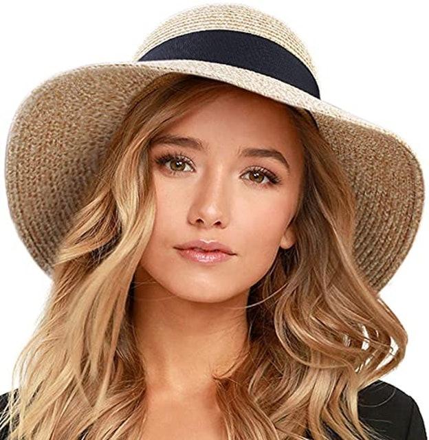 Furtalk Women's Beach Straw Hat 1