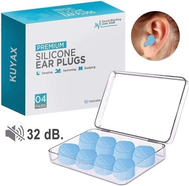 Kuyax Premium Silicone Earplugs 1