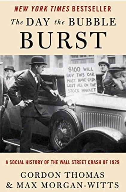 Gordon Thomas, Max Morgan-Witts The Day the Bubble Burst 1