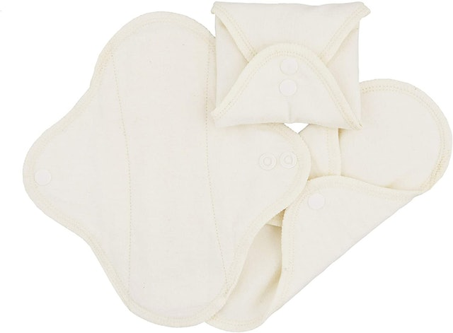 Imse Vimse Reusable Organic Cotton Menstrual Pads with Wings 1