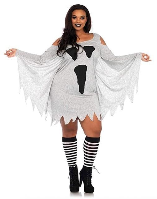 Leg Avenue Women's Ghost Shirt Dress 1