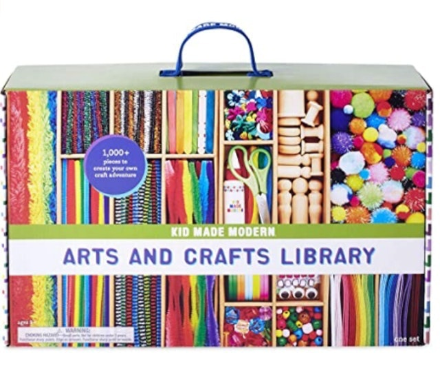 Kid Made Modern Arts and Crafts Library 1