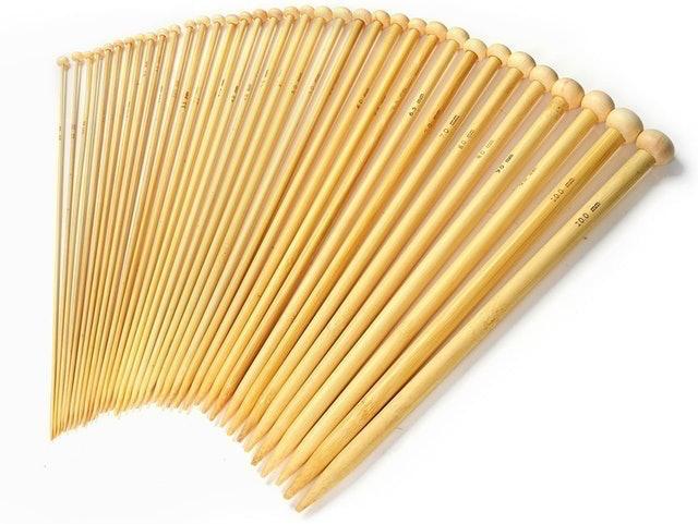 LIHAO Bamboo Knitting Needles Set 1