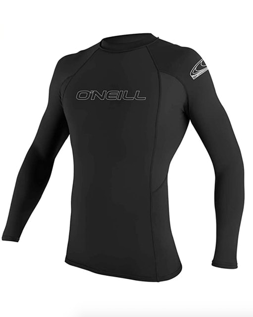 O'Neill Men's Basic Skins Long Sleeve Rash Guard 1