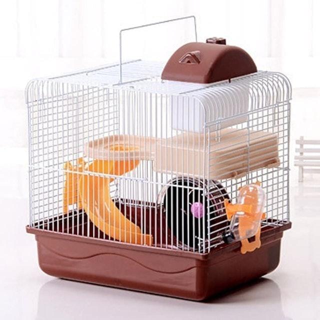 Petzilla 2-Tier Portable Travel Cage 1