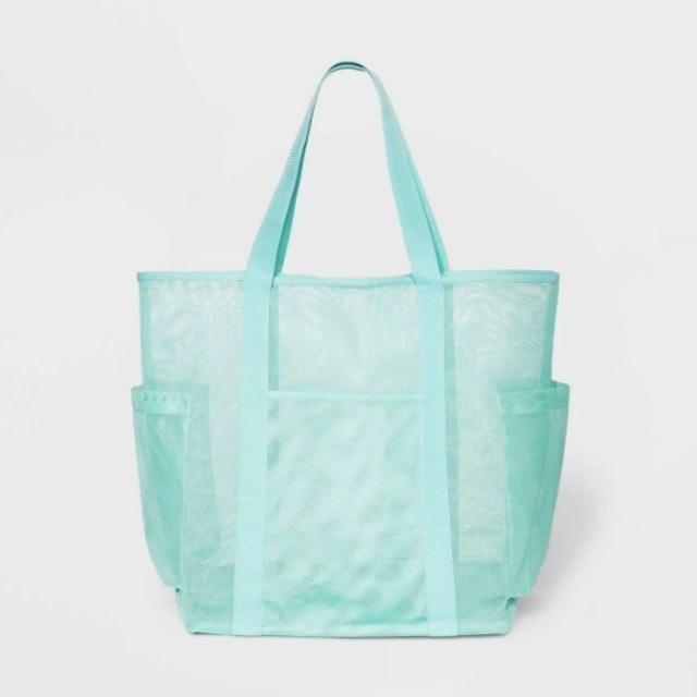 Shade & Shore Mesh Tote Handbag 1