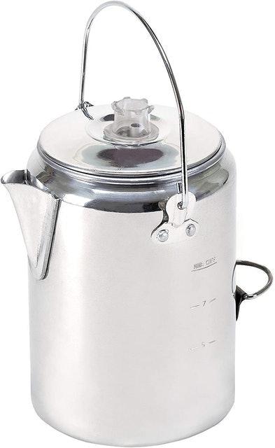 Stansport Aluminum Percolator Coffee Pot 1
