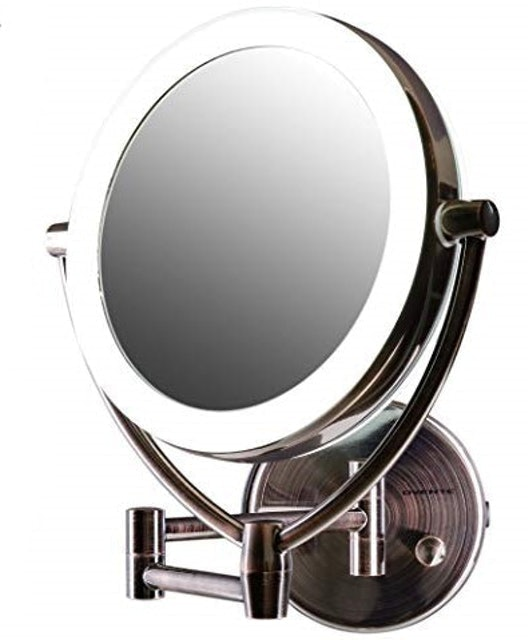 Ovente LED Lighted Wall Mount Makeup Mirror 1